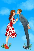 Pushing Daisies Kiss by ChrissyDelk