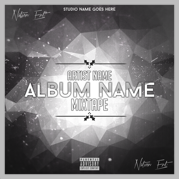 New CD Mixtape Cover by NationEntertainment