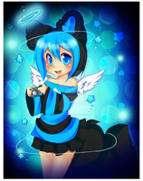 Blue Angel by Love-The-Nekos