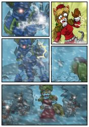 Chronicles of Polaris Comic Page 9 PREVIEW by MikeOrion
