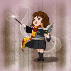 The Brightest Witch of her age. by FrancesRey