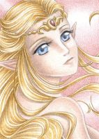 Another Zelda ACEO by Rooro22