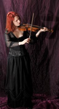The violinist 2 by Meltys-stock