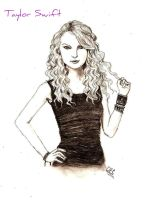 Taylor Swift by WhiteWhiskerz