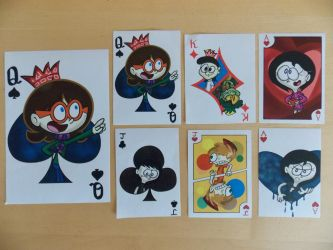 Clarissa and Friends Playing Cards Printed by rachetcartoons