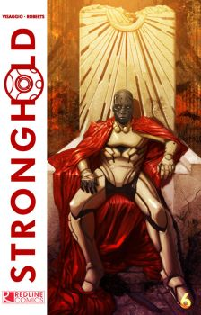 Stronghold Issue 6 cover by Lalilulelo2003