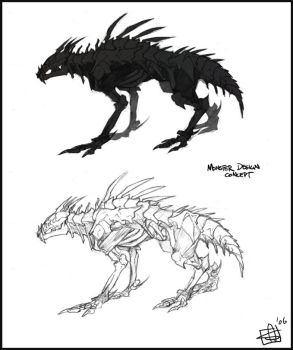 Monster Concept by Merystic