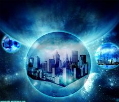 Space Citys by souhail88