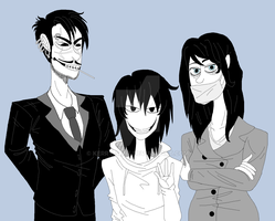 Jeff's Real Family by Kerry-Sene