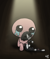 TBoI: Isaac and Guppy by Ec8er
