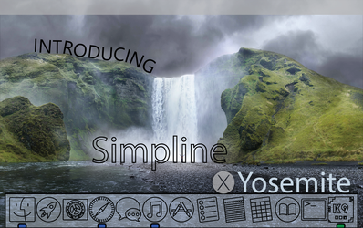 SIMPLINE ICON SET OS X Yosemite - Coming Soon? by dAKirby309