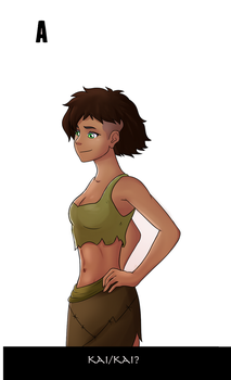Avatar Genderbend - Kai by TheMightFenek
