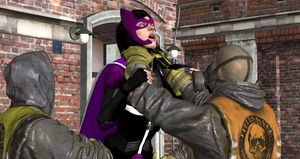 Birds of Prey defeated by thugs (130) by integfred