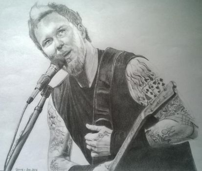 James Hetfield by Polaris279
