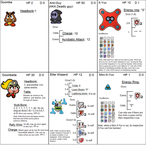Paper Mario Card game by smawzyuw2