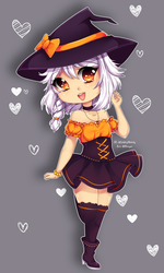 Halloween OC from Selphy by Mimyoi