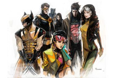 Xmen blue by Peter-v-Nguyen