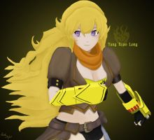 RWBY - Yang Xiao Long by KP-Acejo