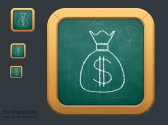 Pocet Budget Icon by shlyapnikova