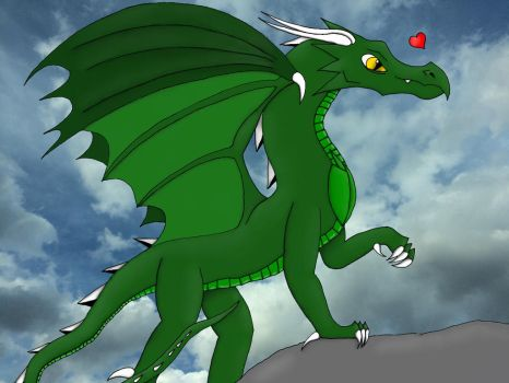 The Best Dragon!! by CrystalMoonGazer