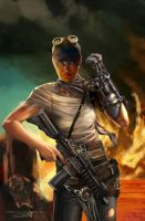IMPERATOR FURIOSA MAD MAX FURY ROAD by killbiro