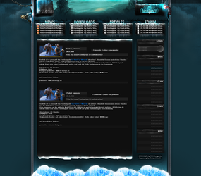 Icy - WoW Freetemplate by pcwunder