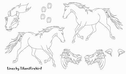 MS Paint Friendly Horse Ref by TikamiHasMoved