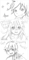Drawings from RMD by yune-d