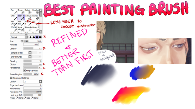 BEST PTS PAINTING/BLENDING BRUSH V2.0 by duskyu