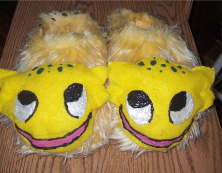 Darth Mommy's Gizka Slippers by NatalieKelsey