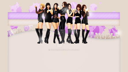 PREMADE: AOA Layout Header by chazzief