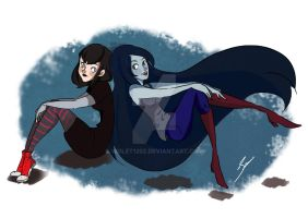 The Vampire Girls by Violet1202