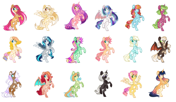 Pony Point Adoptables [50 Points: OPEN] by JustOurAdopts