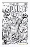 TALES TO ASTONISH #13 Cover RECREATION - 1st GROOT by DRHazlewood
