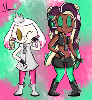 Pearl and Marina by FaithCreates