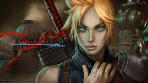 Cloud Strife - FF VII by randis