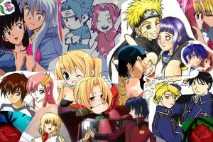 Anime Couples Collage by randomlybanshee
