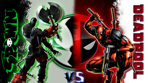 Deadpool vs Spawn by reptiletc