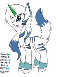 Another Friggin Pony OC by MoondustOftheMoon
