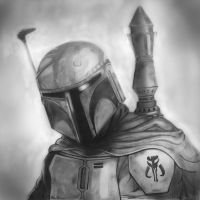Boba Fett | Star Wars by MikeManuelArt