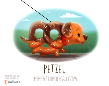 Daily Paint 1599. Petzel by Cryptid-Creations