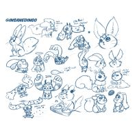 Carbuncle concepts by TheInsaneDingo