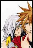 Sora and Riku by tachiik