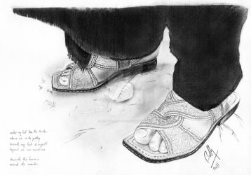 The Feet of Poetry by Bobby-Sandhu