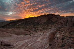 Valley of Fire Sunrise by TerribleTer
