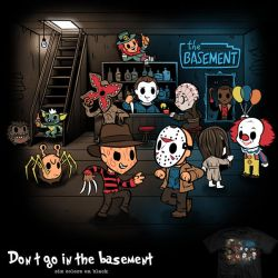 Don't Go In The Basement - tee by InfinityWave