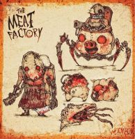 MEAT FACTORY - Bloodwork by Strapstar