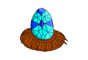 Jayce's egg by FrozenScales