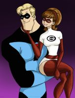 Incredibles: Love in tights by persephohi