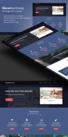 One Page Template (PSD) by PSDchat